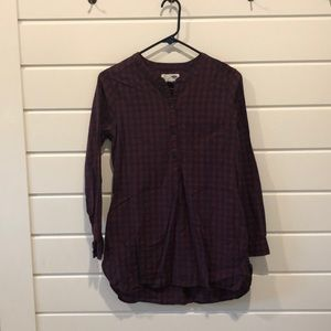 Old Navy Tops - Flannel tunic